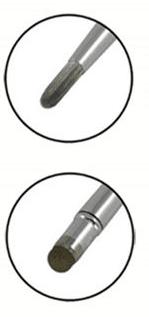 pensseli- ja metalliverkkopäät