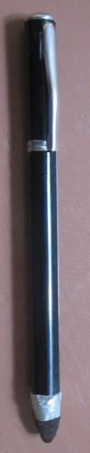 Kumituttikynästä muokattu kynä